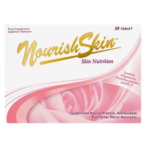 Pelembab Nourish Skin nourish skin 30 tablet gogobli