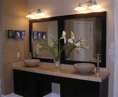 bathroom vanity mirrors for double sink double sink vanity design ideas
