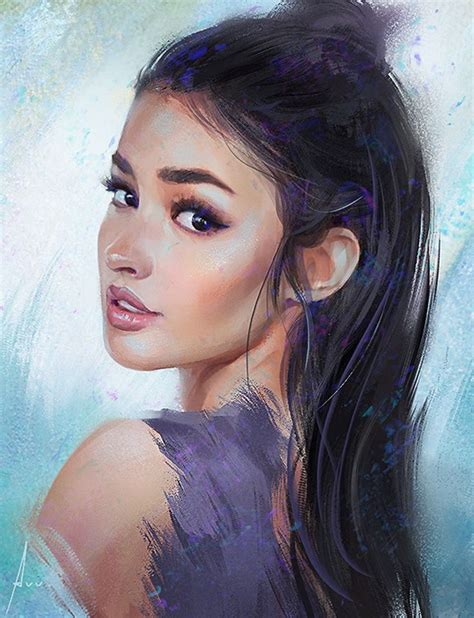 pintrest book beautiful faces girl painting best 25 woman painting ideas on pinterest