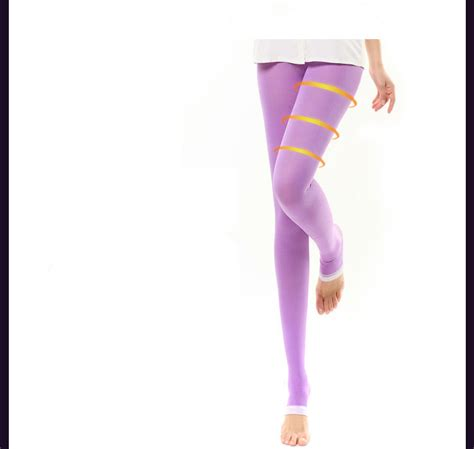 Stoking 480d 1 compression for slimming leg 480d lycra sleeping wear burning