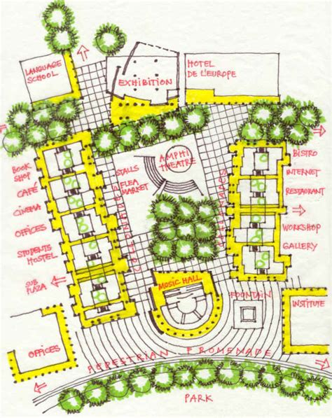 Large Home Floor Plans auroville international zone planning and development