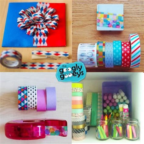 things to do with washi tape things you can do with washi tape googly gooeys