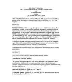 Template Agreement Between Two by Contract Agreement Between Two Template Hlwhy