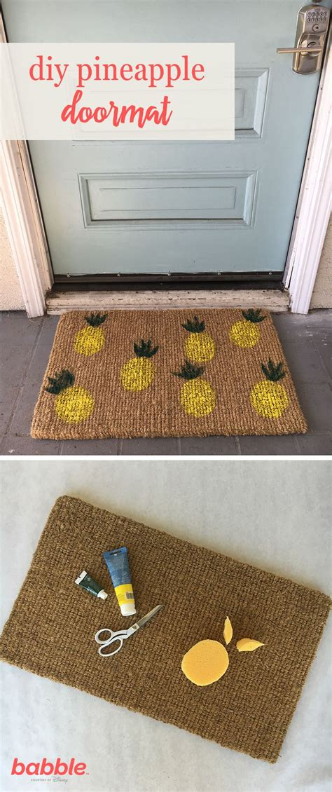 Bright Doormat 25 Best Ideas About Pineapple Symbolism On