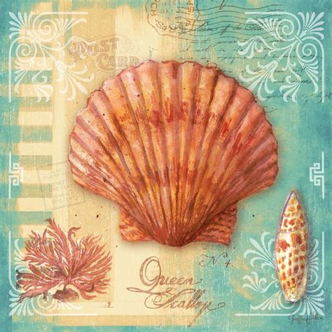 Decoupage Pictures To Print - scallop by geoff allen gallery wrap by ingallery