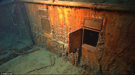 Titanic Wreck Interior by Murdoch S Cabin Aboard Titanic William Murdoch