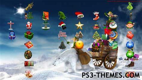 christmas themes ps3 ps3 themes 187 holiday seasonal 187 page 3
