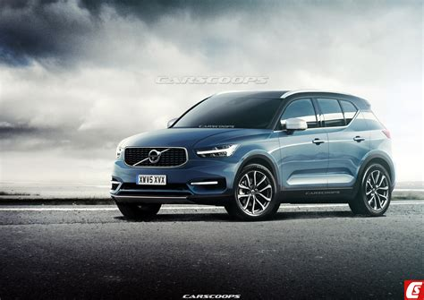 future cars  volvo xc compact suv   sweet swede carscoops