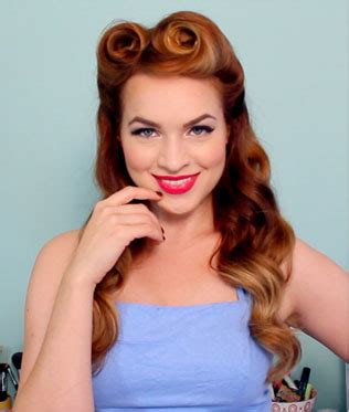 Fifties Hairstyle by Show Your For Vintage Style With These Inspiring 50s
