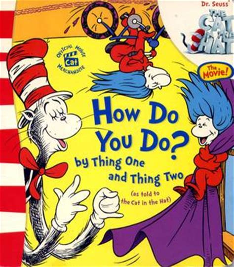 the one things books how do you do by thing one and thing two by christopher