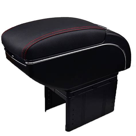 Promo Console Box Arm Rest Pendek Daihatsu All New Xenia Bw 77d Barang universal leather car armrest central store content storage box with cup holder center console