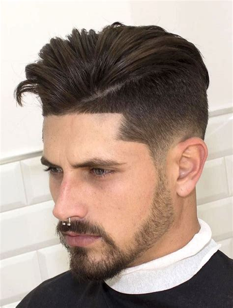 pin fade low high south side spiky mohawk on