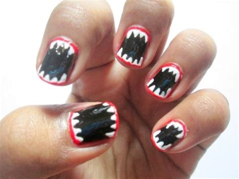 easy nail art halloween halloween inspired easy nail art tutorial makeup and