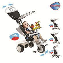 smart trike recliner black smart trike recliner stroller 4 in 1 with an activity toy