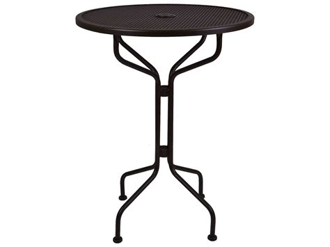 Ow Mesh Wrought Iron 30 Bar Table 30 Mbt