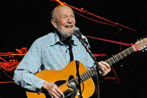 legendary folk singer pete seeger dead