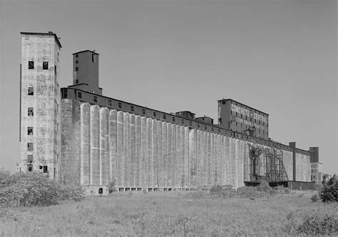 Erie County Ny Records File Concrete Central Elevator 175 Buffalo River Buffalo Erie County New York Jpg