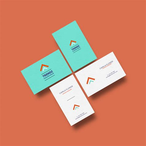card design mockup free business cards mockup graphicsfuel