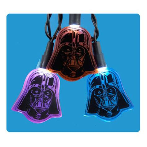 star wars darth vader multi colour christmas lights iwoot