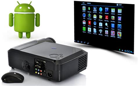 Proyektor Android 444 Smartbeam Android 4 0 Media Player Projector