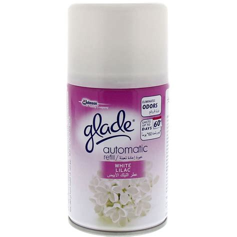 Glade Automatic White Lilac buy glade white lilac automatic refill 250 ml in