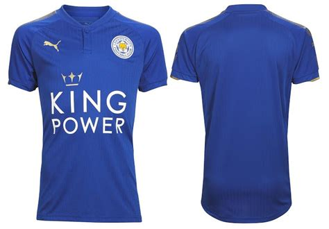 leicester city jersey 2017 2018 home away and third kits