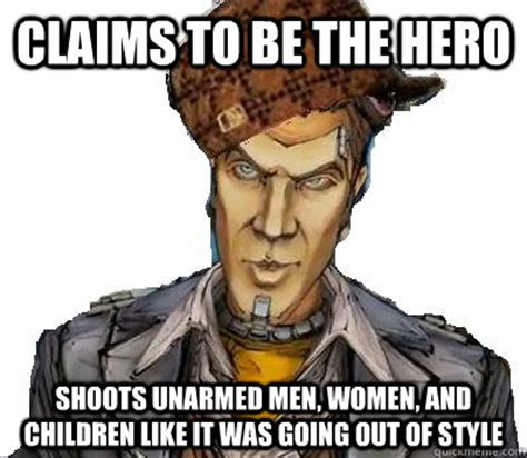 Handsome Man Meme - claims to be the hero shoots unarmed men women and