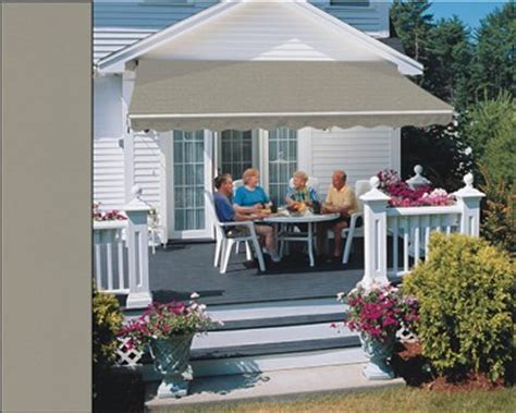 sunsetter vinyl fabric selection patio awnings canada