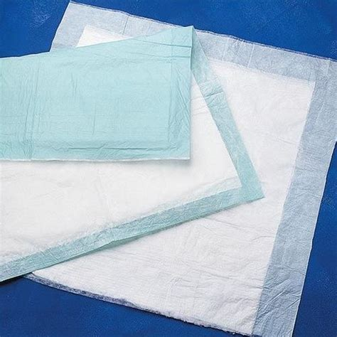 disposable bed pads medline protection plus deluxe disposable bed underpads