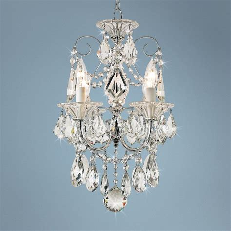 Schonbek Mini Chandelier Schonbek Silver Palace Mini Chandelier
