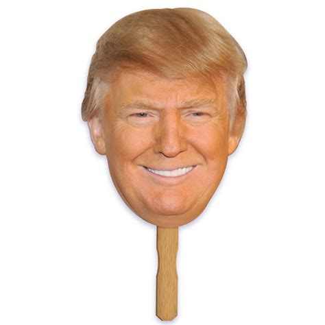 Halloween Decorations To Make At Home by Donald Trump Mask On Stick Caufield S Novelty