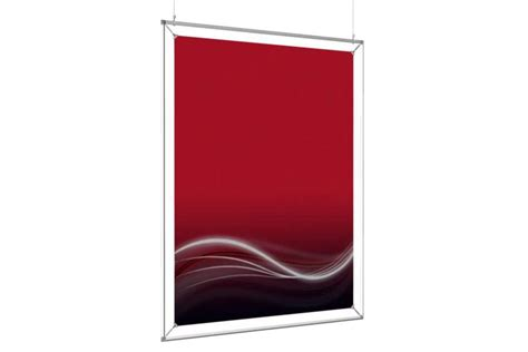 36 x 48 frame hanging poster frame to display a 36x48 poster afix poster display solution d affichage