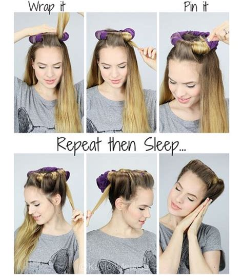 how to curl short heatless heatless curls for short hair hairstyle gallery