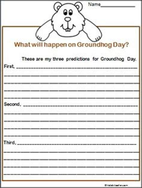 groundhog day journal prompts 1000 images about groundhog day on groundhog