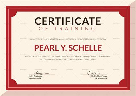 design certificate microsoft publisher training certificate design template in psd word