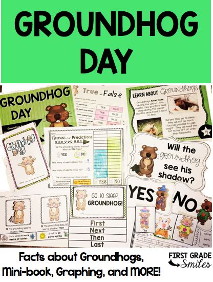 groundhog day no tomorrow grade smiles groundhog day activities