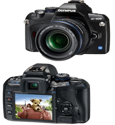 Alat Reflexi Digital olympus e 420 se kit spiegelreflexkamera digital 12