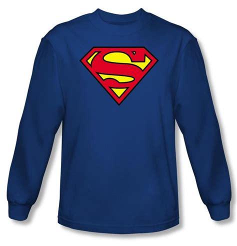 T Shirt Muhammad Ali Biru Royal superman sleeve t shirt classic logo shield royal blue superman shirts