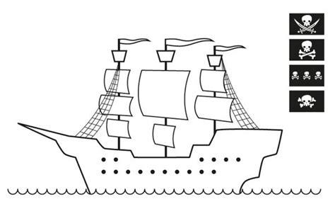 barco guerra dibujo blog megadiverso barcos piratas para colorear y descargar