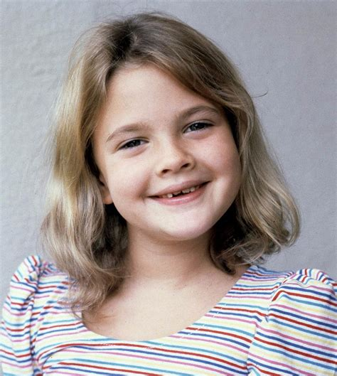famous female child stars drew barrymore s hair evolution today