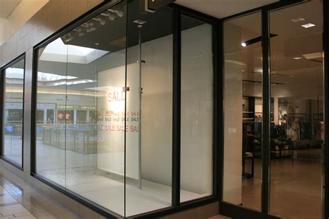 Glass Store Front Doors Mall Storefront Windows Allservices Frameless Glass Company