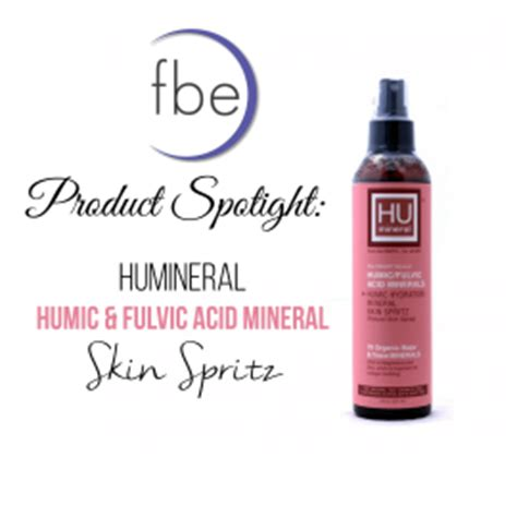 Humic Detox by Humineral Skin Spritz Humic Fulvic Acid Minerals For