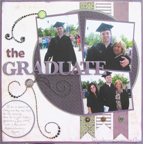 scrapbook layout graduation 94 best ideas about scrap graduation on pinterest