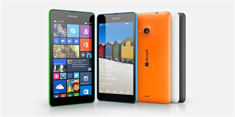 Microsoft Lumia 535 Update Microsoft Releases Software Update For Lumia 535