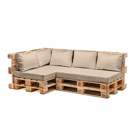 Pallet Patio Furniture Cushions Pallet Garden Furniture Cushions Sets Water Resistant Covers Seat Wooden Sofa