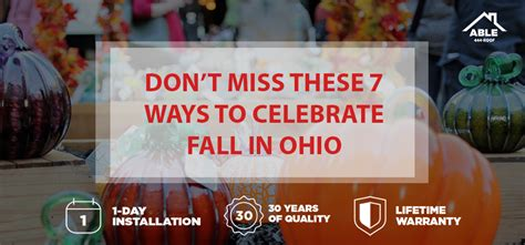 7 Ways To Celebrate Your Heritage by Don T Miss These 7 Ways To Celebrate Fall In Ohio