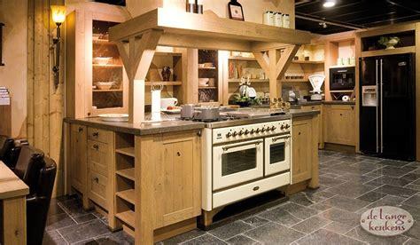 Houten Keuken Landelijk by Landelijke Houten Keuken Woodline Antica De Lange Keukens