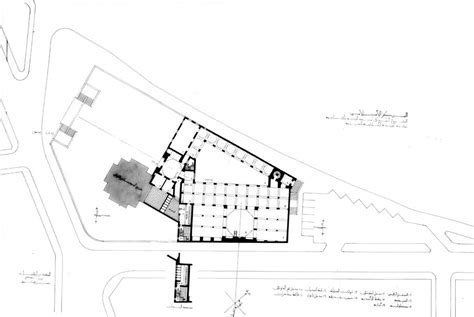 Wehda Mosque And Islamic Centre Design Drawing Ground Architectural Plans Of Mosque