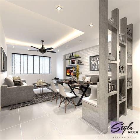 singapore hdb living room design hdb bto 4 room punggol waterway terrace ii interior design singapore living dining