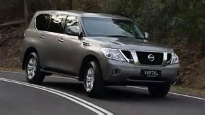 Nissan V8 New V8 Nissan Patrol Review Car Reviews Carsguide